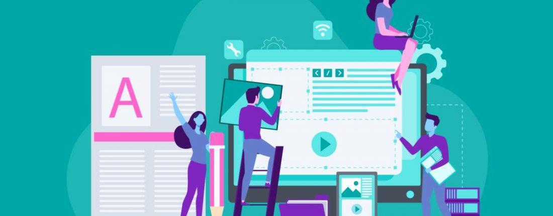 quais departamentos devem estar envolvidos na produção de conteúdo