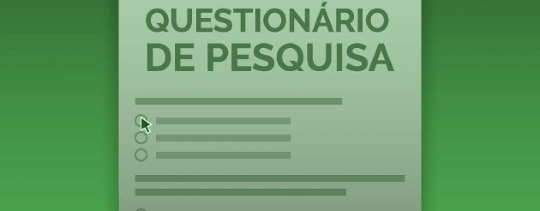 questionário de pesquisa online