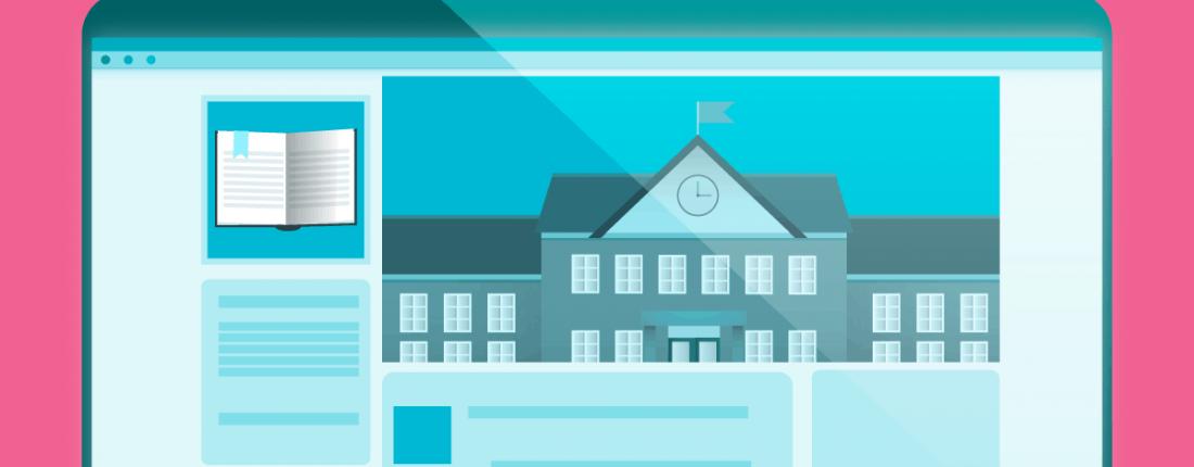 Redes sociais para instituições de ensino