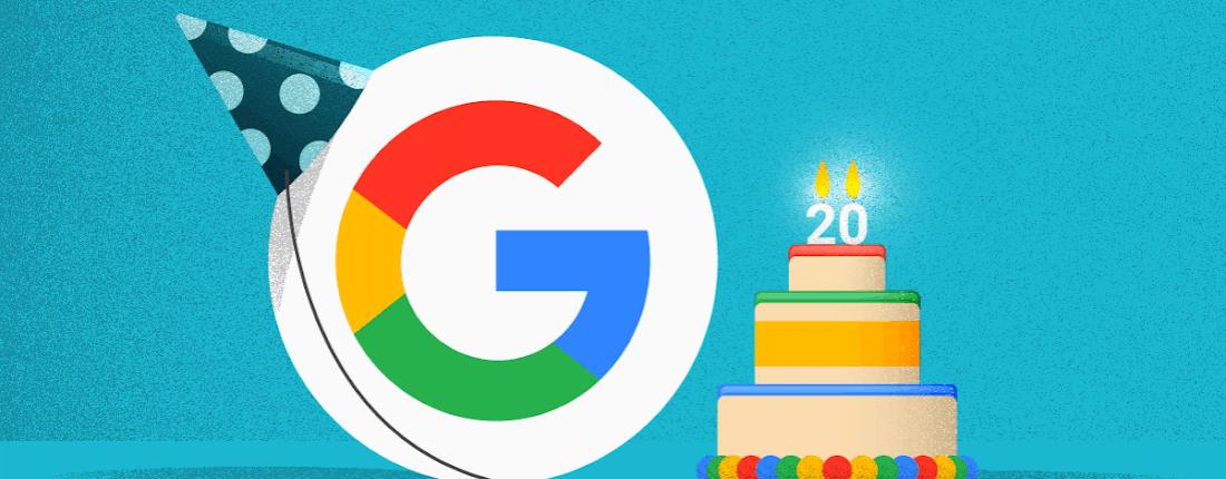 Aniversário de 20 anos do Google: como serão as pesquisas do futuro?