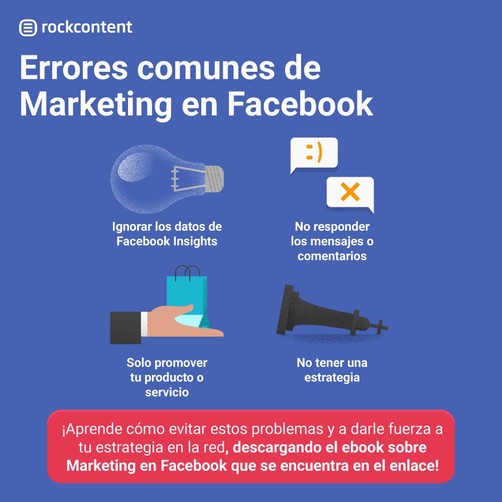 errores de facebook marketing