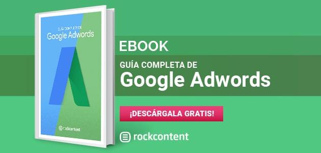 banner para descargar ebook sobre google ads