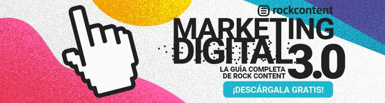 banner para descargar la guía de marketing digital