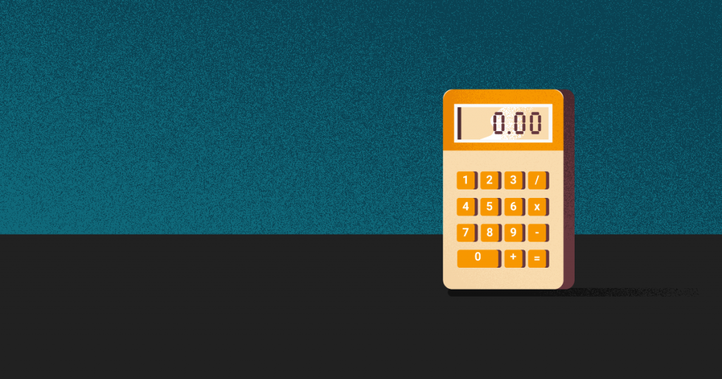 ticket promedio - una calculadora