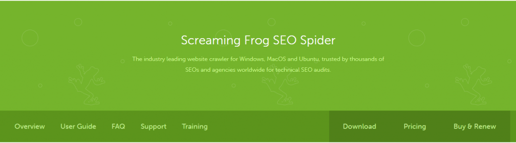 seo técnico screaming frog