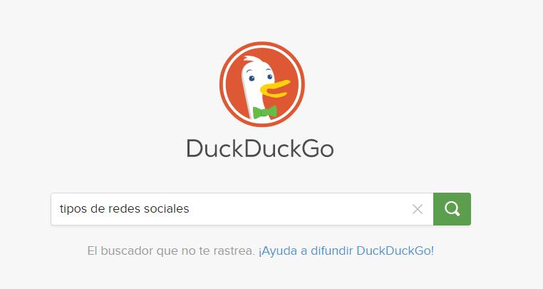 buscadores duck duck go