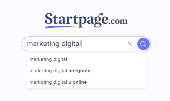 buscadores startpage