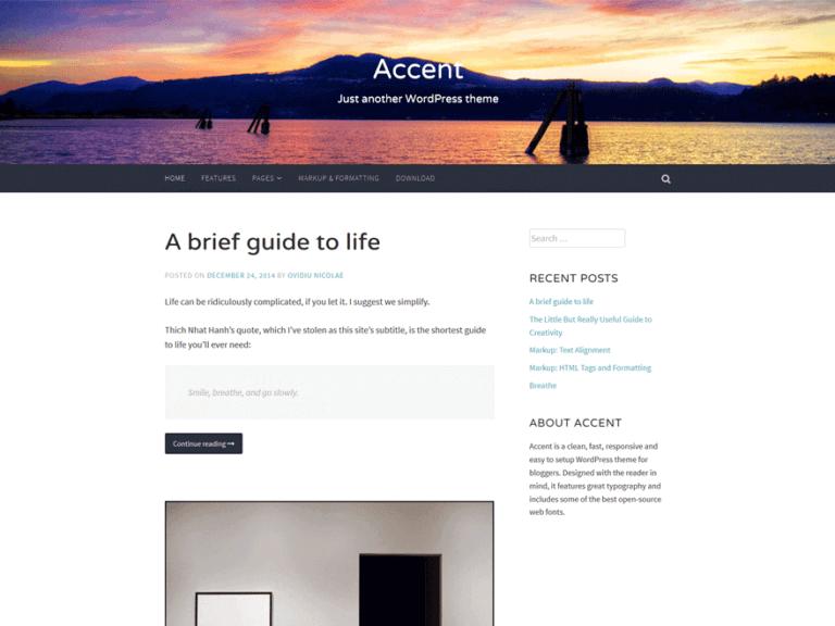 ascent themes wordpress