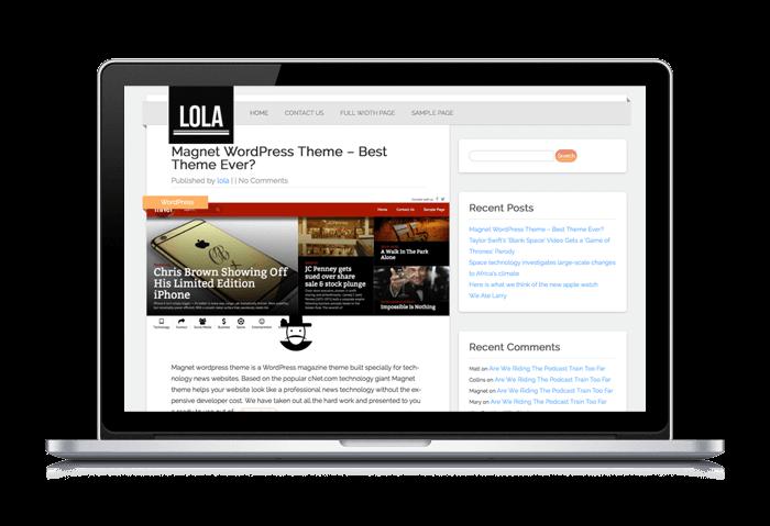 lola wordpress themes