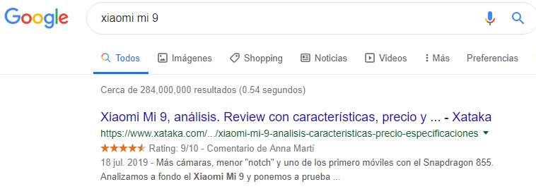 rich snippets reviews