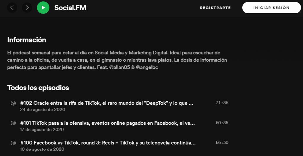 podcast Social FM