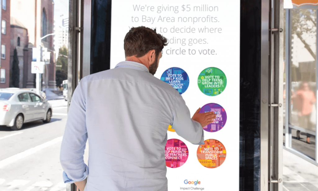 marketing experiencial google