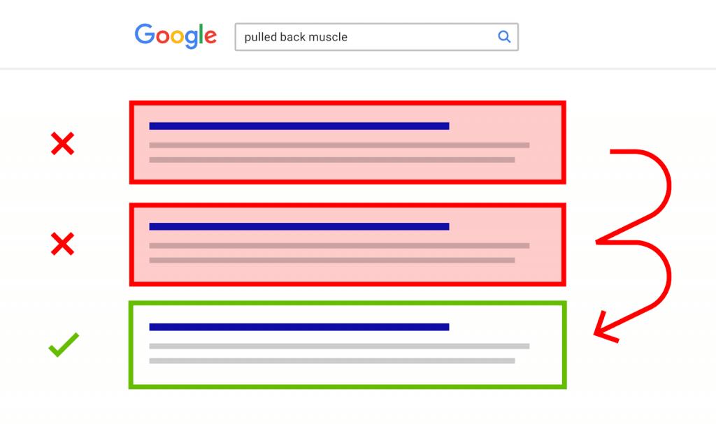 pogo-sticking google