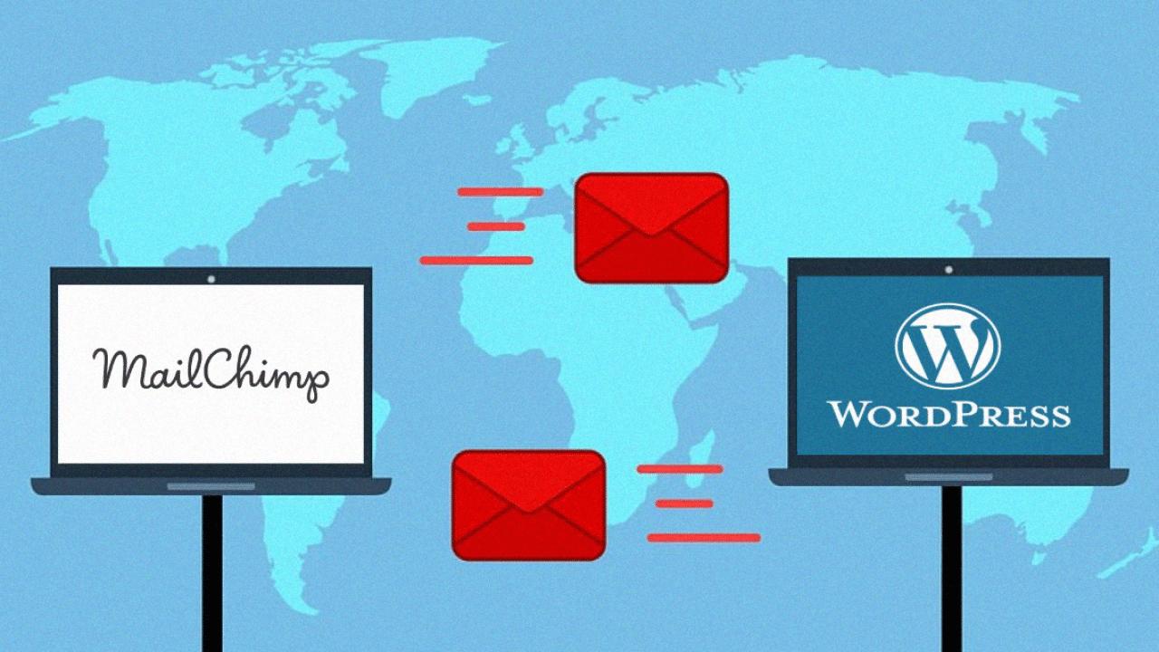 cómo insertar mailchimp en wordpress