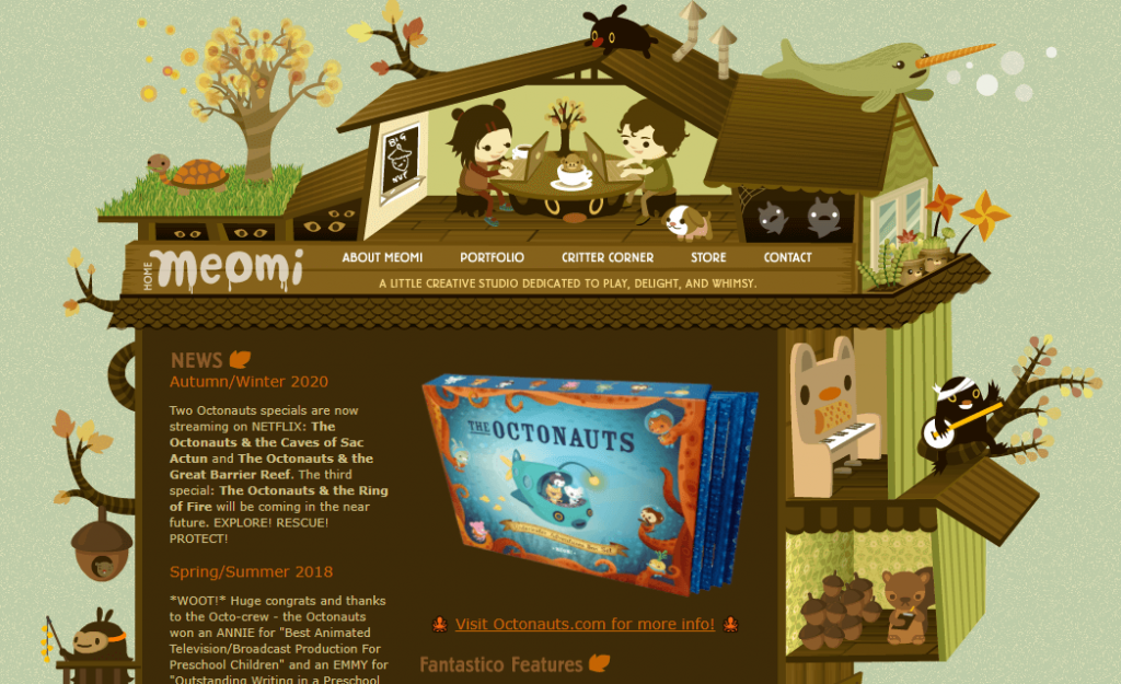 meomi página web