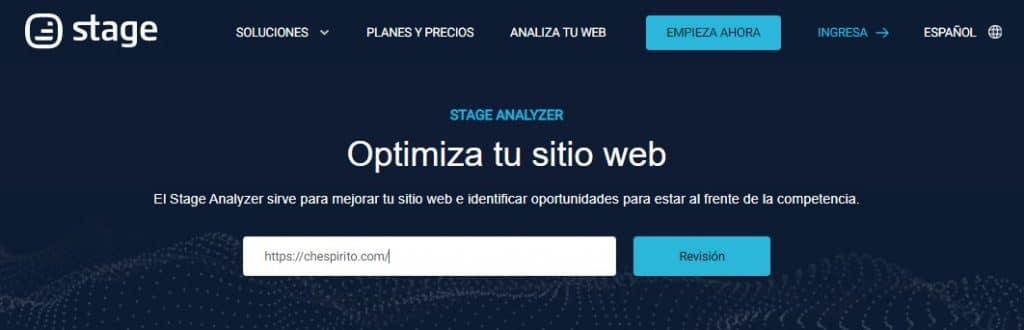 analizar sitios construidos con wordpress