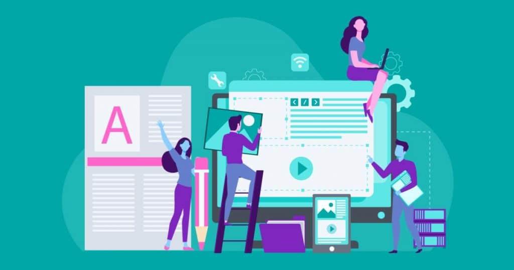 equipo de marketing de contenido