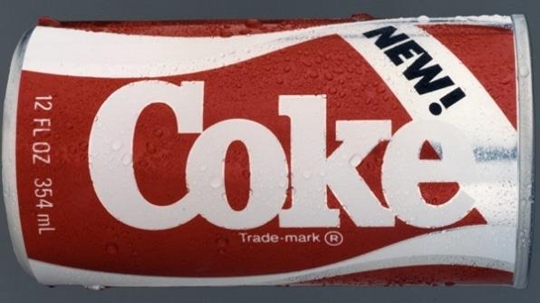errores de marketing new coke