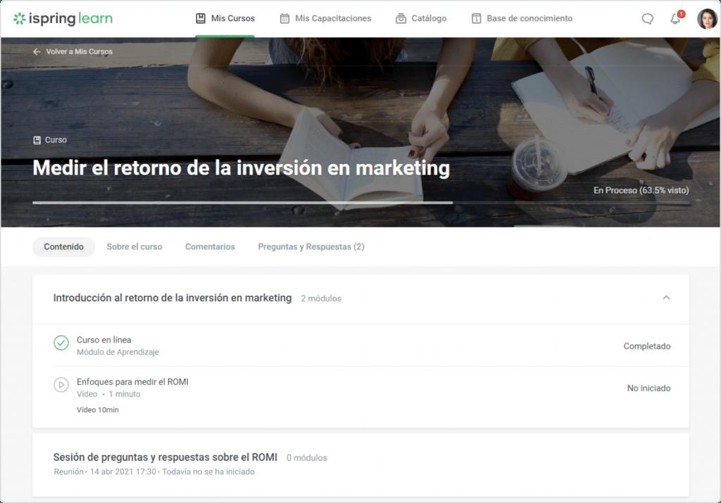 equipo de marketing de una empresa