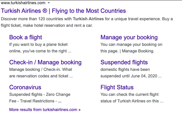 unique selling proposition turkish airlines