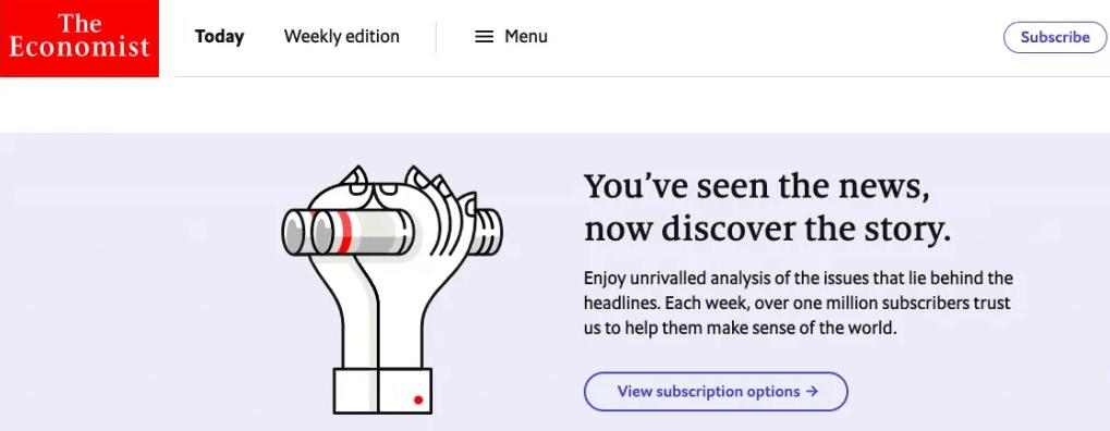 the economist unique selling proposition