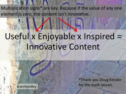 Source: @annhandley on Slideshare: https://www.slideshare.net/AnnHandley/useful-x