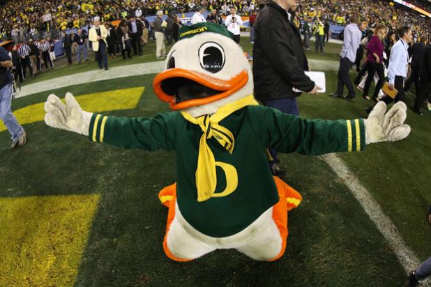 Donald Duck at Oregon State University