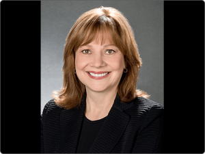 Mary Barra, CEO of GM.
