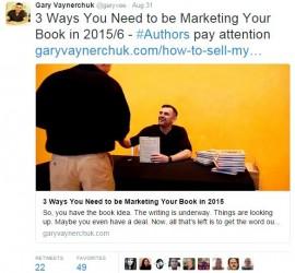Gary Vaynerchuk Tweet