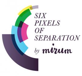 Six Pixels of Separation