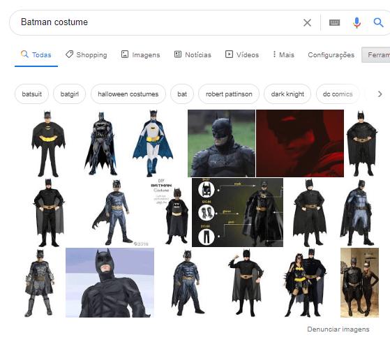 batman costume research
