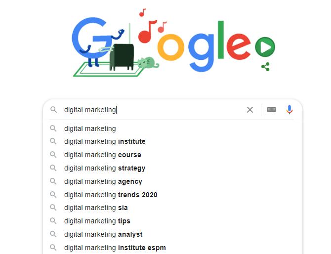 navigation search
