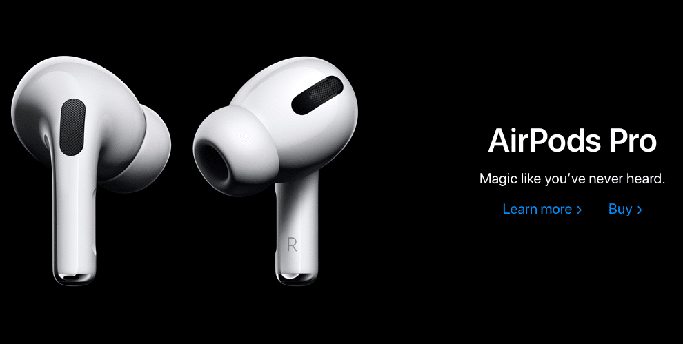 airpods campaign
