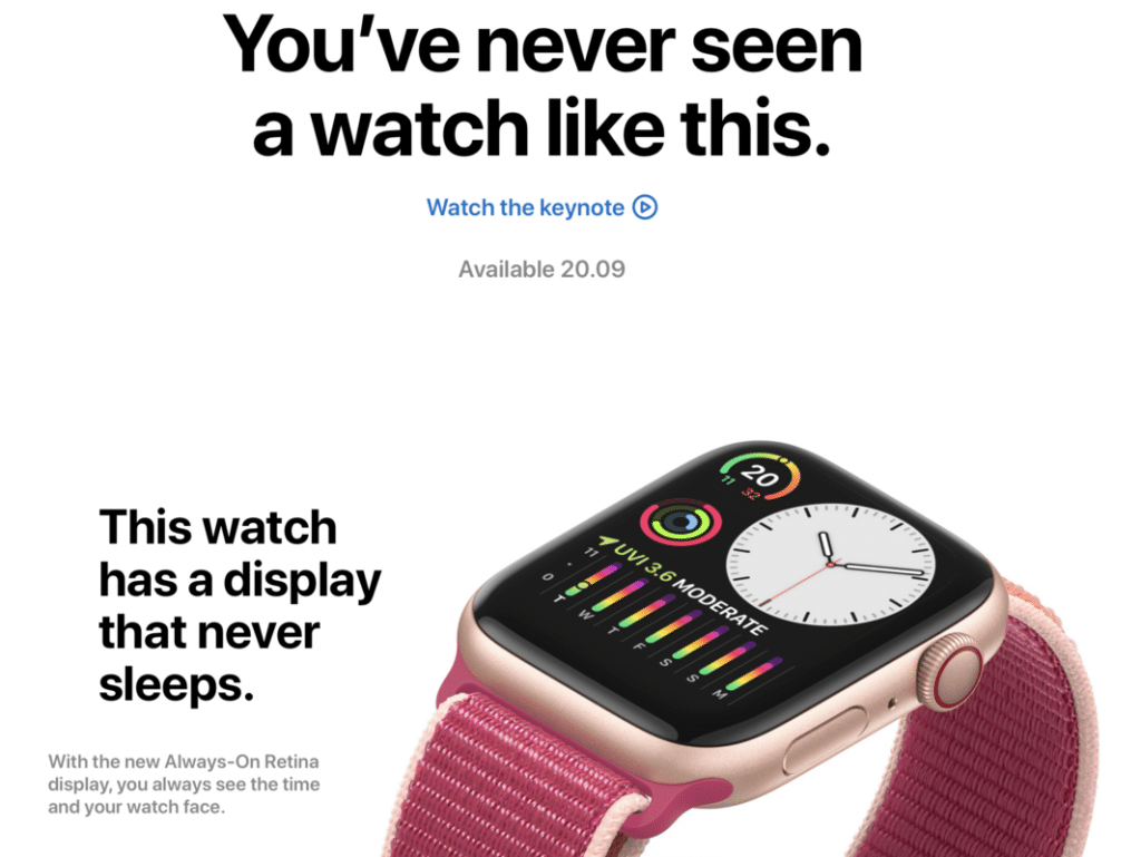apple watch campaign