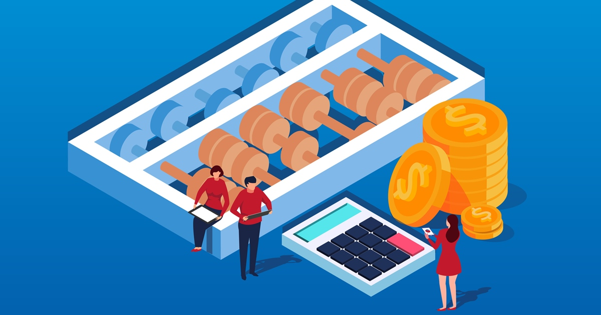 Isometric calculations and finance