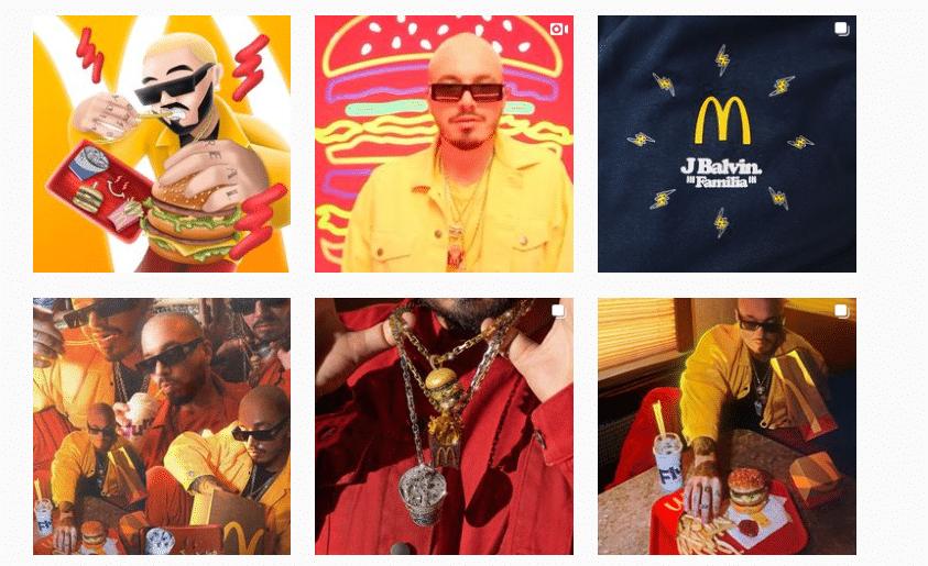 McDonalds social marketing