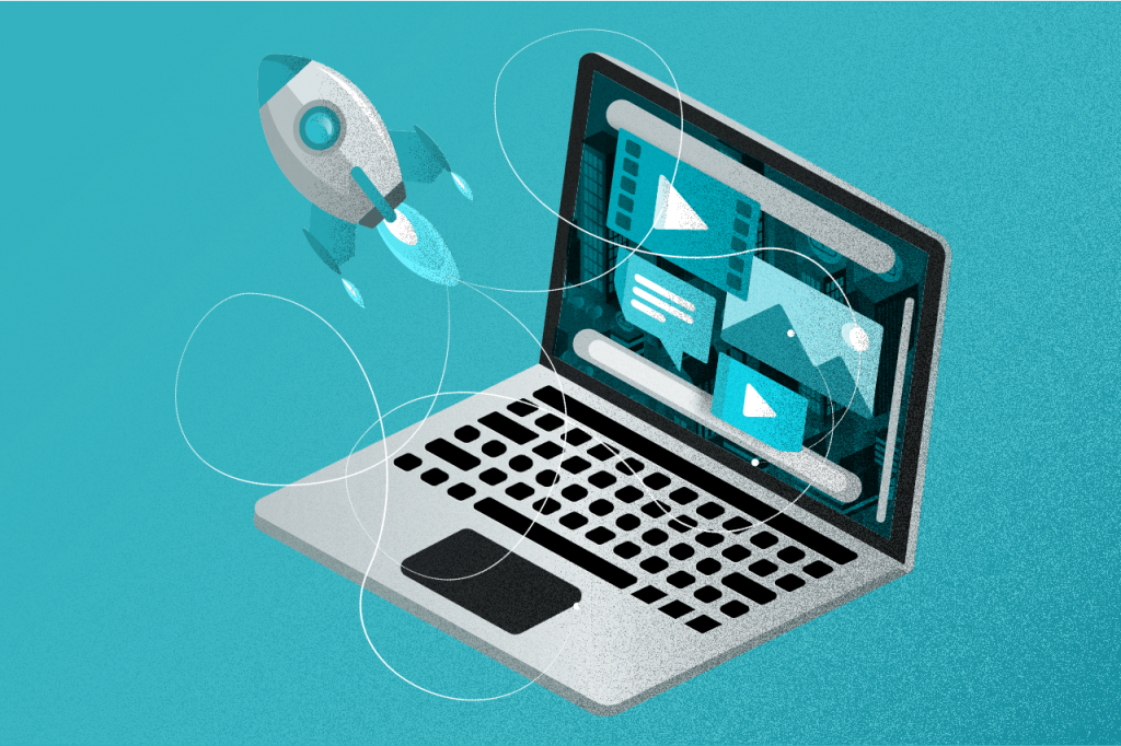 examples of tech companies using interactive content to drive leads