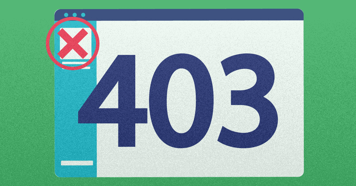 what is http error 403 forbidden and how to fix it