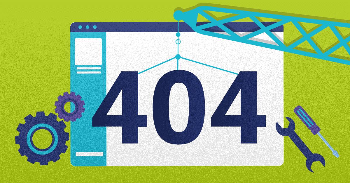 how to create a custom error 404 page