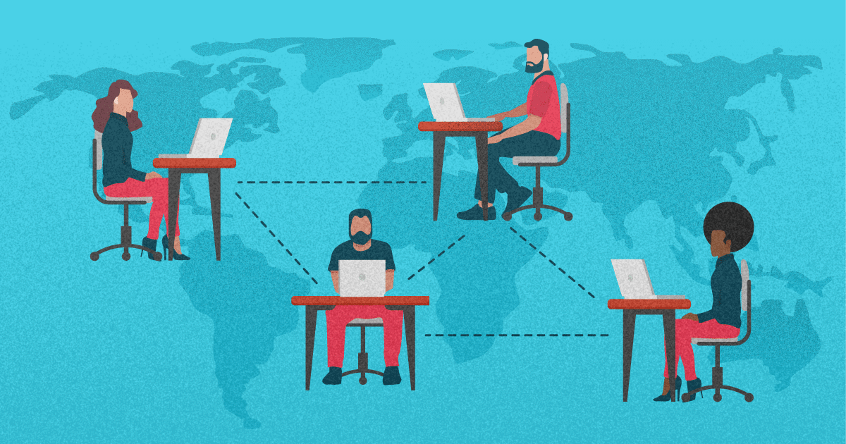 tips to lead a remote marketing team