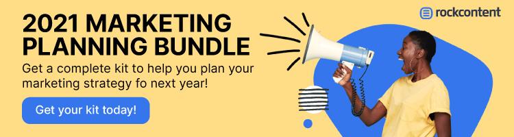 Marketing Planning Bundle - Promotional Banner
