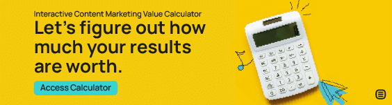 Interactive Content Marketing Value Calculator