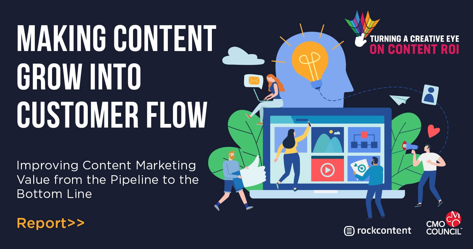 Making Content Grow Into Customer Flow - Promotional Banner
