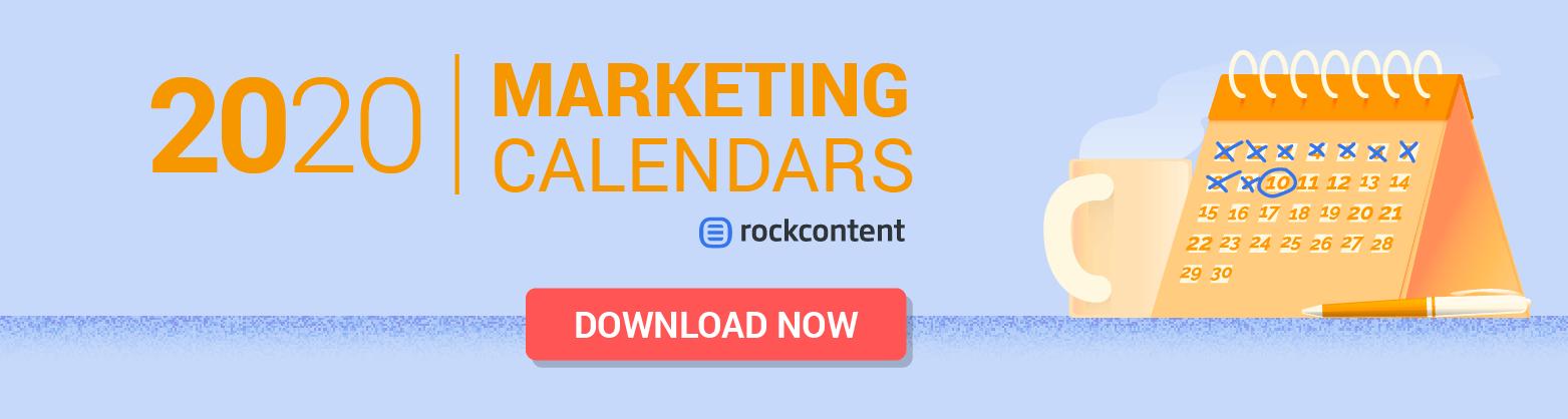 Marketing calendars - Promotional Banner