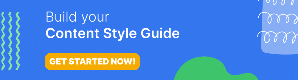 Build Your Own Content Style Guide