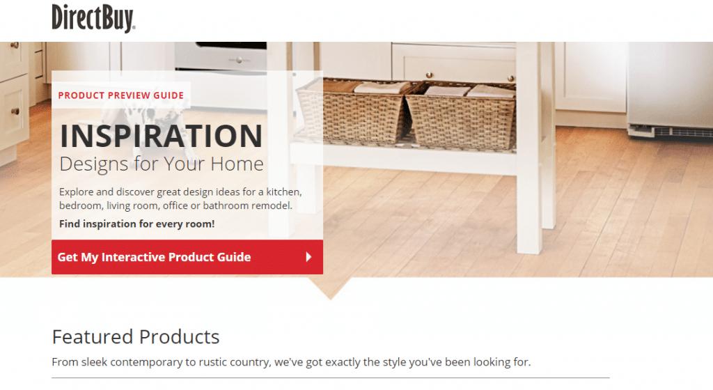directbuy interactive lookbook
