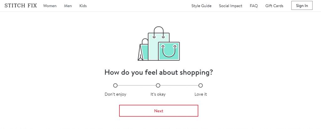 stitch fix interactive quiz