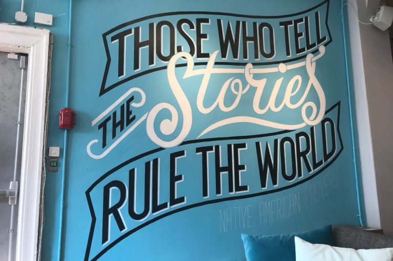 Those who tell the stories rule the world.