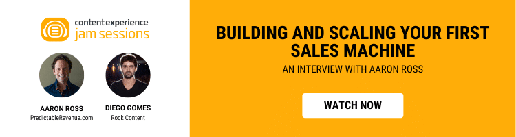 WEBINAR: Building and scaling your first sales machine