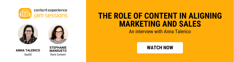 The Role of Content in Aligning Marketing and Sales